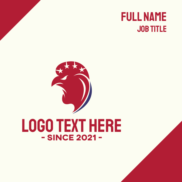 American Rooster Business Card