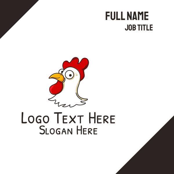 Chicken Head Business Card