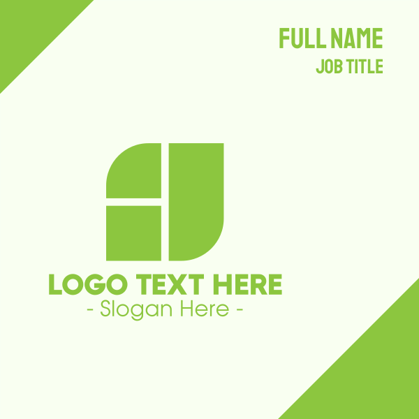 Corporate Nature Business Business Card