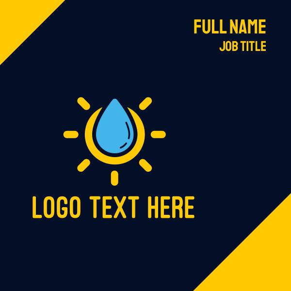 Liquid Sun Lotion Business Card