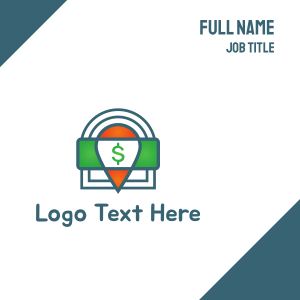 Cash Locator Business Card
