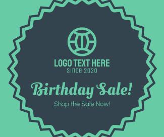 Birthday Sale Facebook post