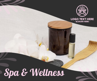 Spa and Wellness Facebook post