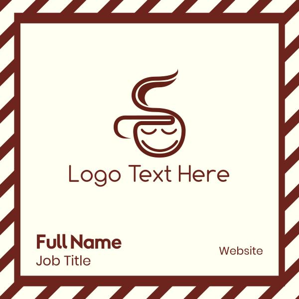 Coffee  Boy Business Card