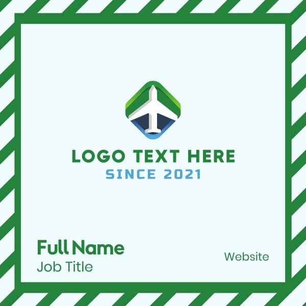 Modern Aviation Business Card