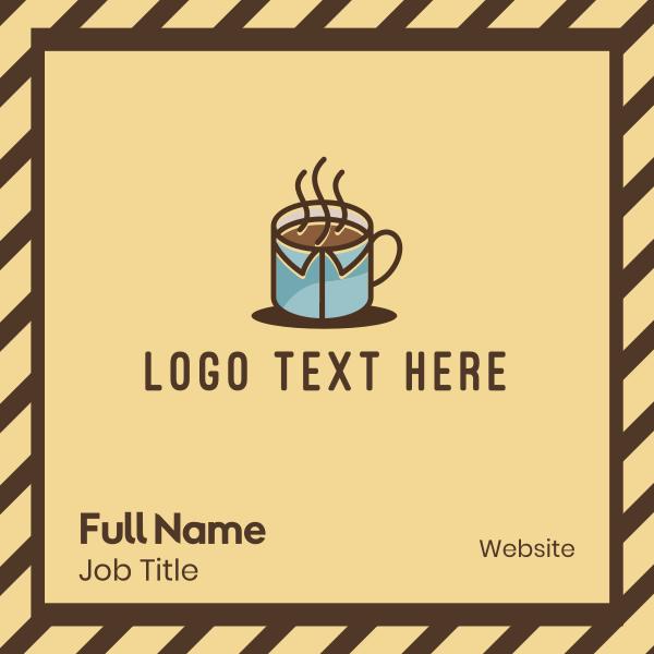 Office Mug Coffee Business Card