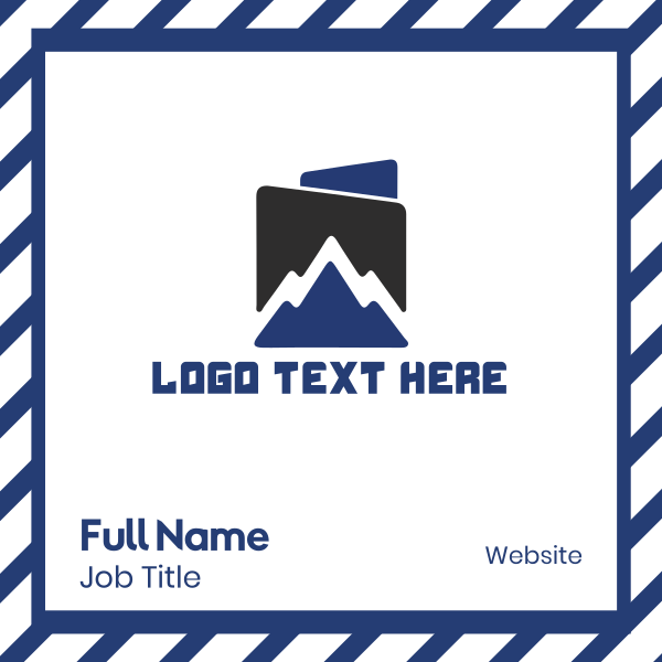 Blue Mountain Business Card