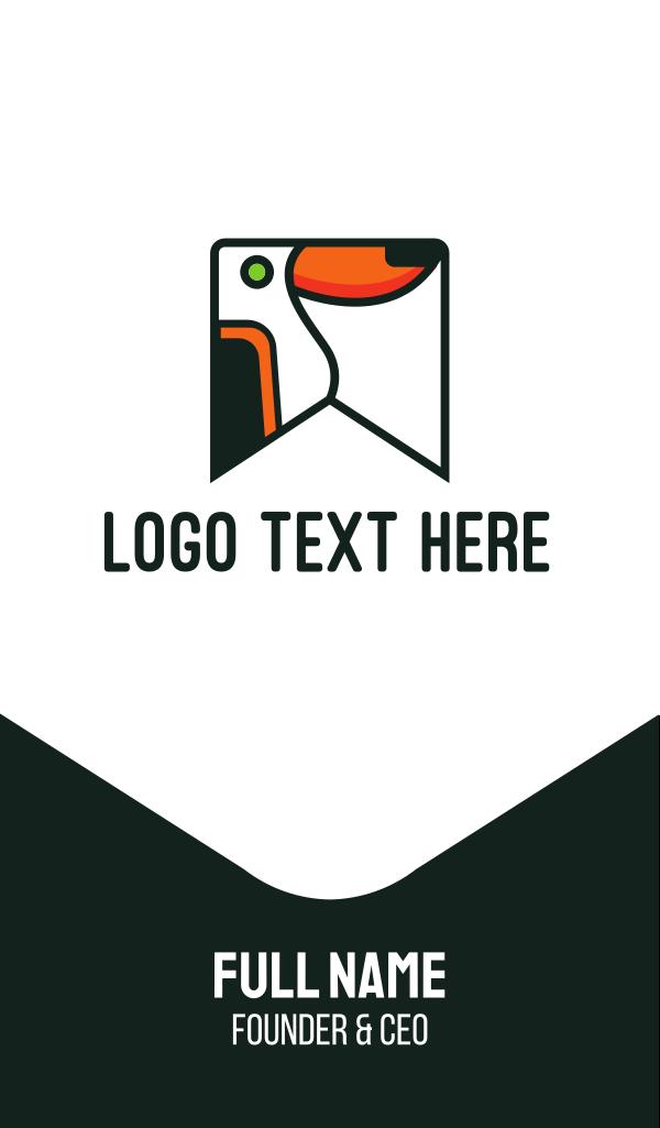 Toucan Flag Business Card