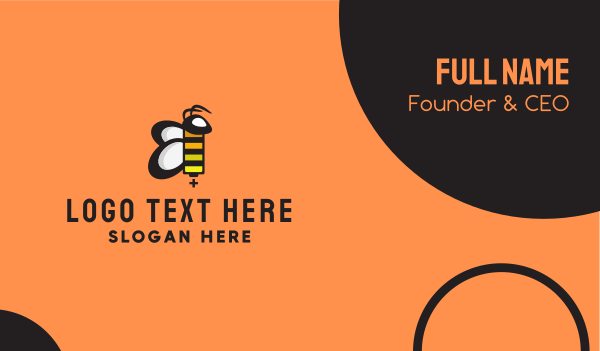 Bee Battery Business Card