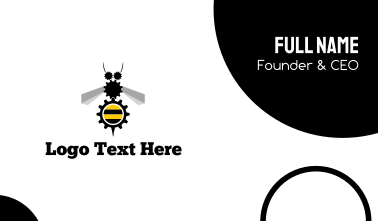 Industrial Bee Business Card