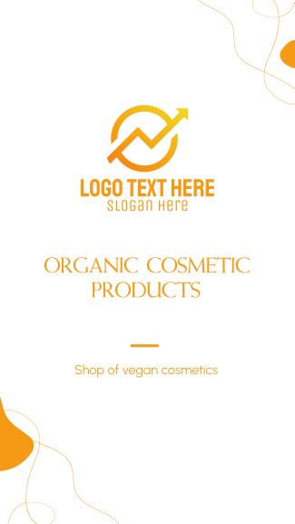 Organic Cosmetic Facebook story