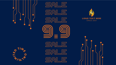 9.9 Special Sale Badge Facebook event cover