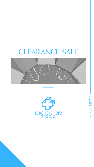 Clearance Sale Facebook story