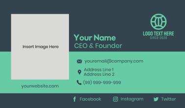 Center Banner Business Card