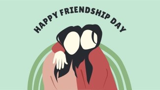 Happy Friendship Day Girl Friends Facebook Event Cover
