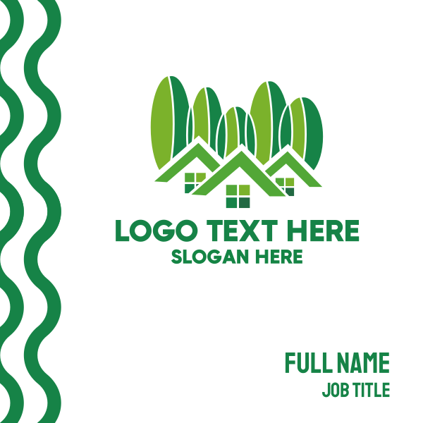 Green Houses Business Card