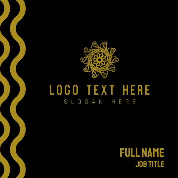 Oriental Style Business Card