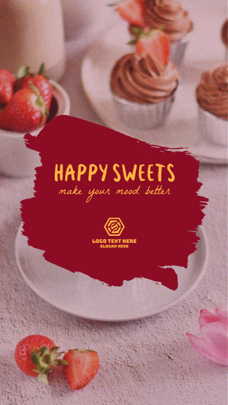 Happy Sweets Facebook story