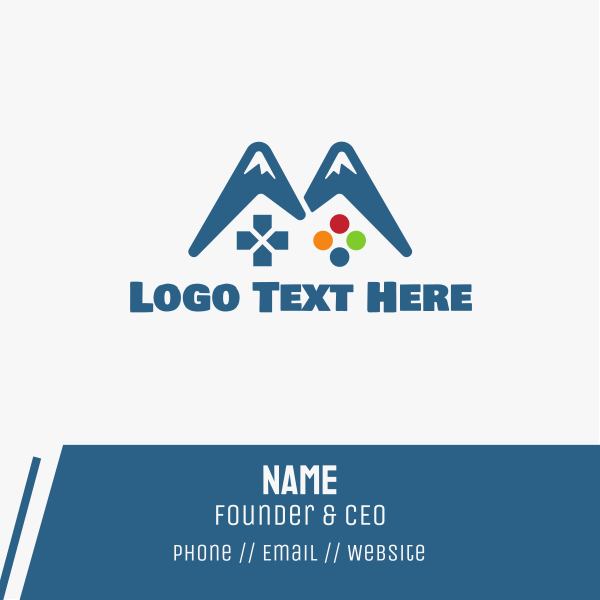 Gaming Mountain Business Card