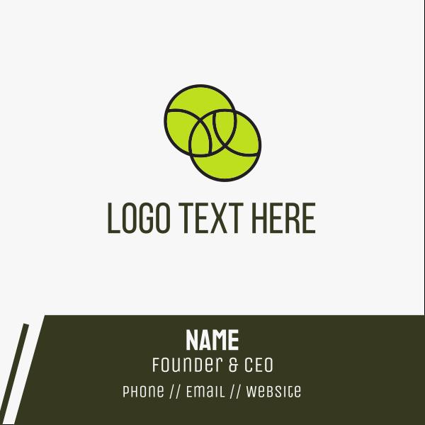 Tennis Balls Business Card