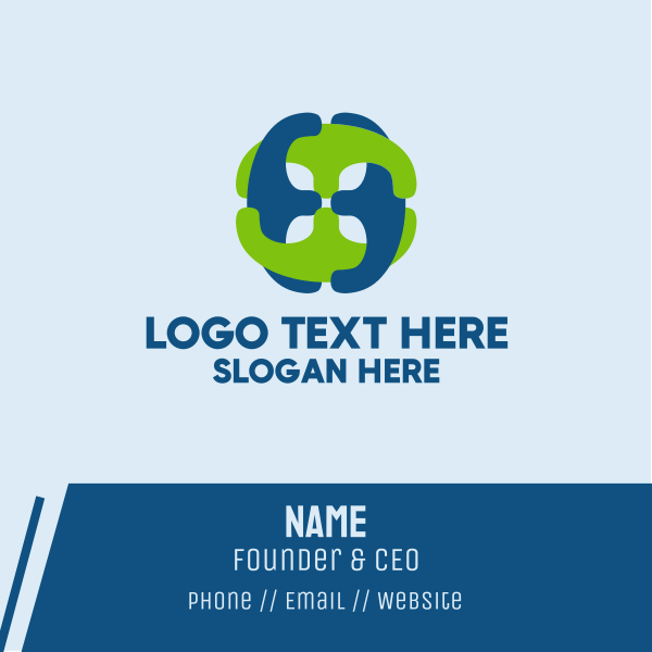Connected Chain Business Card