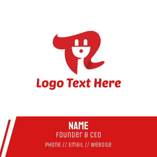 Red Plug Business Card