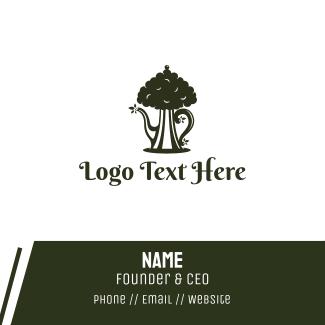 Tea Tree Business Card