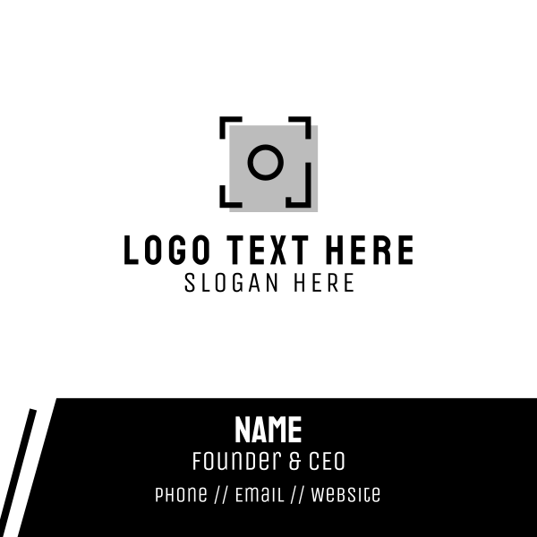 Frame Photography Business Card