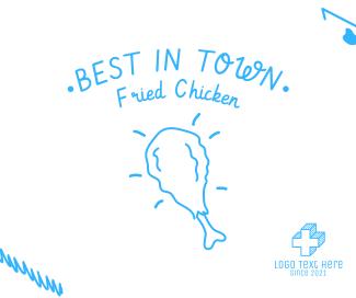 Fried Chicken Facebook post