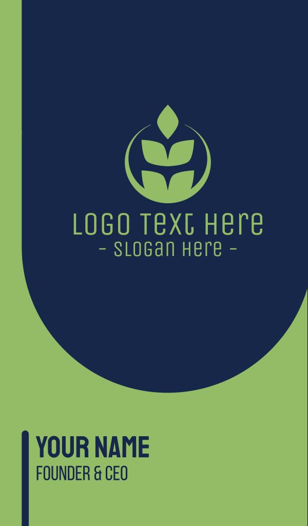 Organic Green Wheat Business Card