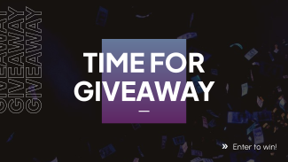 Time For Giveaway Facebook Event Cover