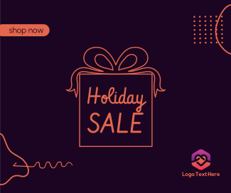 Holiday Sale Facebook post