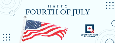 Happy Fourth of July Facebook cover