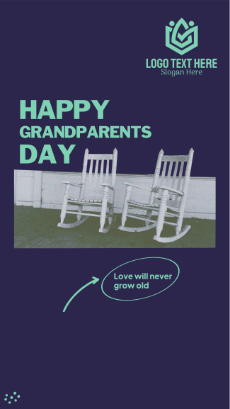 Grandparents Rocking Chair Facebook story
