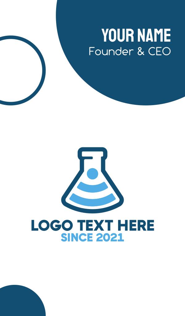 Internet Laboratory Business Card