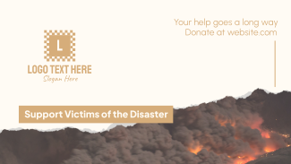 Fire Victims Donation Facebook Event Cover