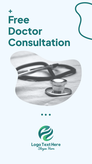 Free Doctor Consultation Facebook story
