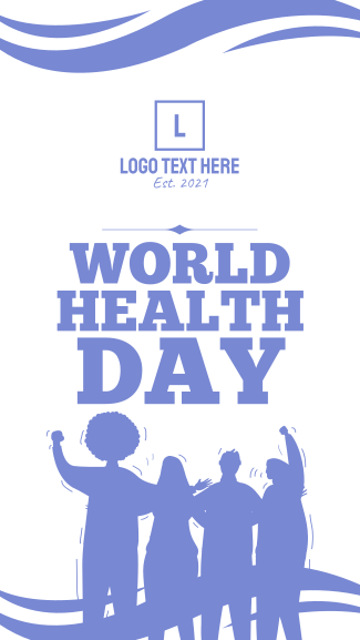 World Health Day Facebook story