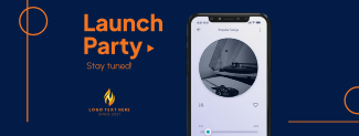New Song Launch Party Facebook cover