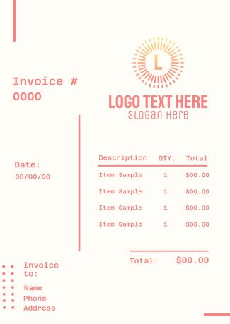 Simple Generic Invoice
