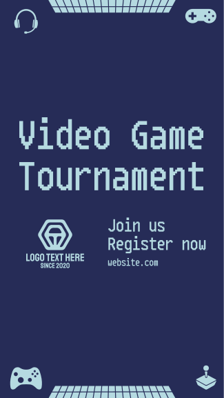 Game Tournament Facebook story