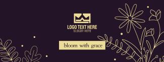 Flowers Bloom Facebook cover