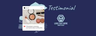 Testimonial  Review Facebook cover