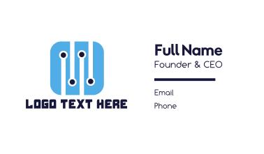 Tech App Business Card