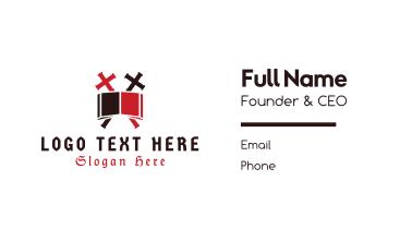 Biblical Cross  Business Card
