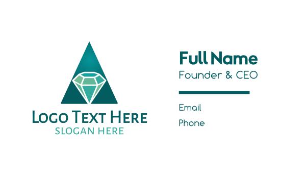 amazing - Amazing Diamond Business card horizontal design