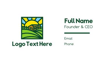 Sunny Farmhouse Business Card
