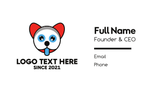 Thirsty Baby Animal Kid Business Card