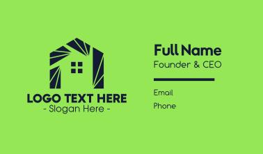 Modern Housing  Business Card