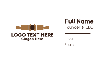 Bakery Cabinet  Business Card
